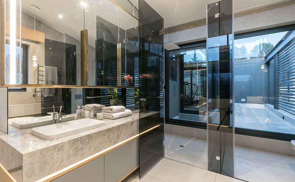 bagno design villa