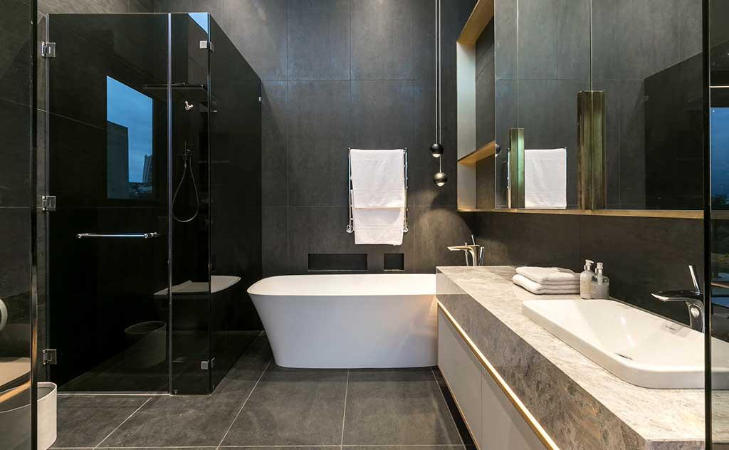 bagno villa vasca