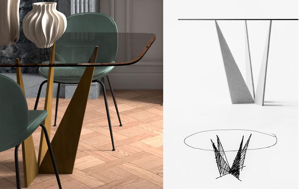 disegni tavolo estremi