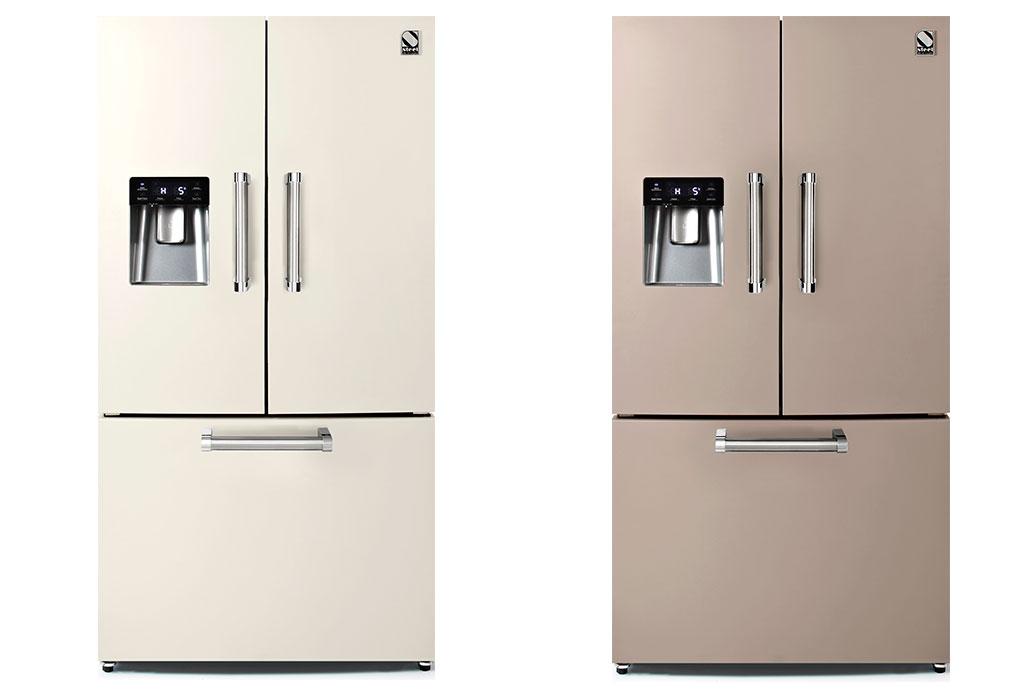 frigoriferi beige e sabbia