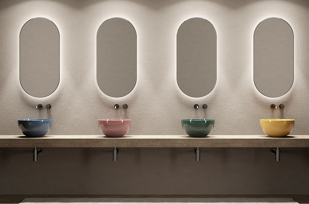 lavabi ceramica lucida