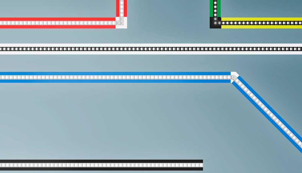 illuminazione led lineare modulare